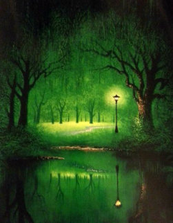 Emerald Path AP Limited Edition Print by Jon Rattenbury