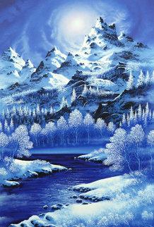 Windswept Summit AP 2005 Limited Edition Print by Jon Rattenbury