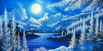 Winter's Beautiful Gift AP 2005 Limited Edition Print by Jon Rattenbury