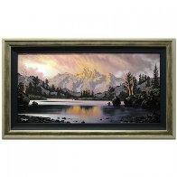 Awaiting Twilight 2014 47x47 Super Huge Original Painting by Jon Rattenbury - 1
