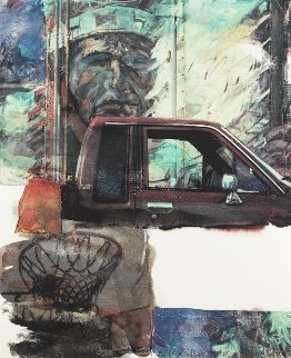 Untitled (American Indian) 2000 Limited Edition Print - Robert Rauschenberg