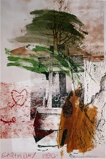 Earth Day 1990 Limited Edition Print by Robert Rauschenberg