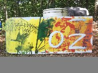 Ozone Bus Billboard 1991 30x144 Other by Robert Rauschenberg - 1