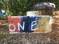 Ozone Bus Billboard 1991 30x144 Other by Robert Rauschenberg - 2