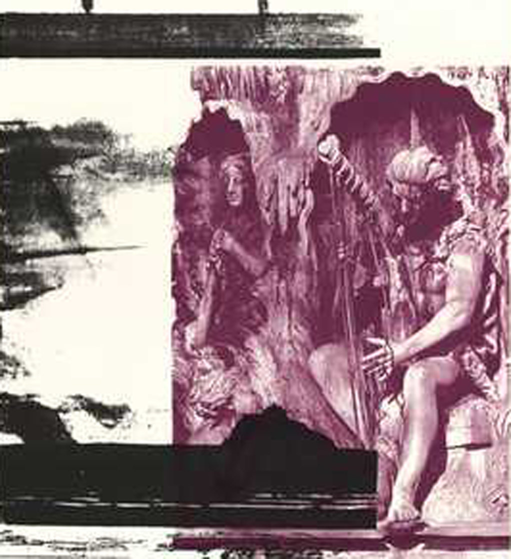Dallas Cares 1989 Limited Edition Print by Robert Rauschenberg