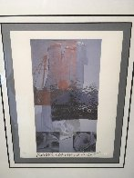 Tanya Veil (Whale) 1994 Limited Edition Print by Robert Rauschenberg - 2