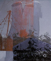 Tanya Veil (Whale) 1994 Limited Edition Print by Robert Rauschenberg - 0
