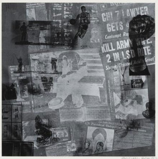 Surface Series From Currents Tp 1970 Limited Edition Print by Robert Rauschenberg