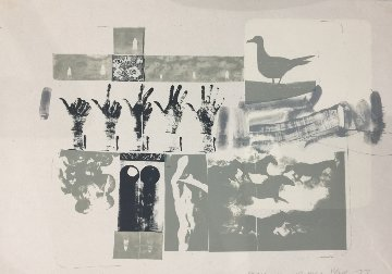 Romances (prophecy) 1977 Limited Edition Print - Robert Rauschenberg