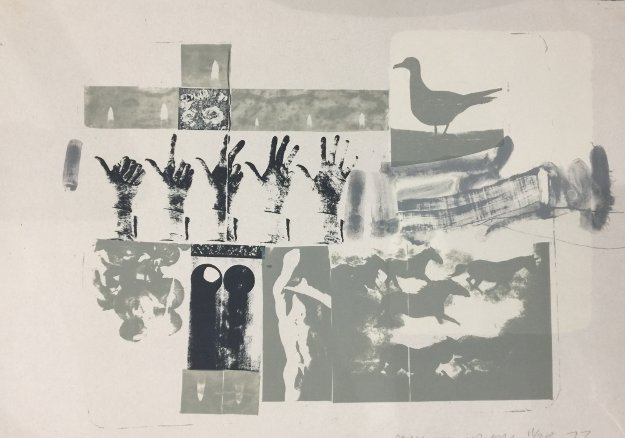 Romances (prophecy) 1977 Limited Edition Print by Robert Rauschenberg