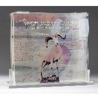 Opal Gospel 1971 Sculpture 18x20 Limited Edition Print by Robert Rauschenberg - 0