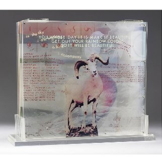 Opal Gospel 1971 Sculpture 18x20 Limited Edition Print - Robert Rauschenberg