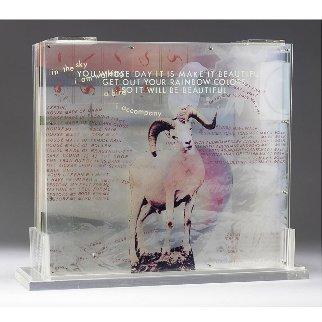 Opal Gospel 1971 Sculpture Limited Edition Print by Robert Rauschenberg