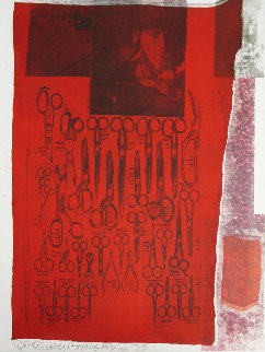 Most Visible Parts of the Sea 1979 Limited Edition Print by Robert Rauschenberg