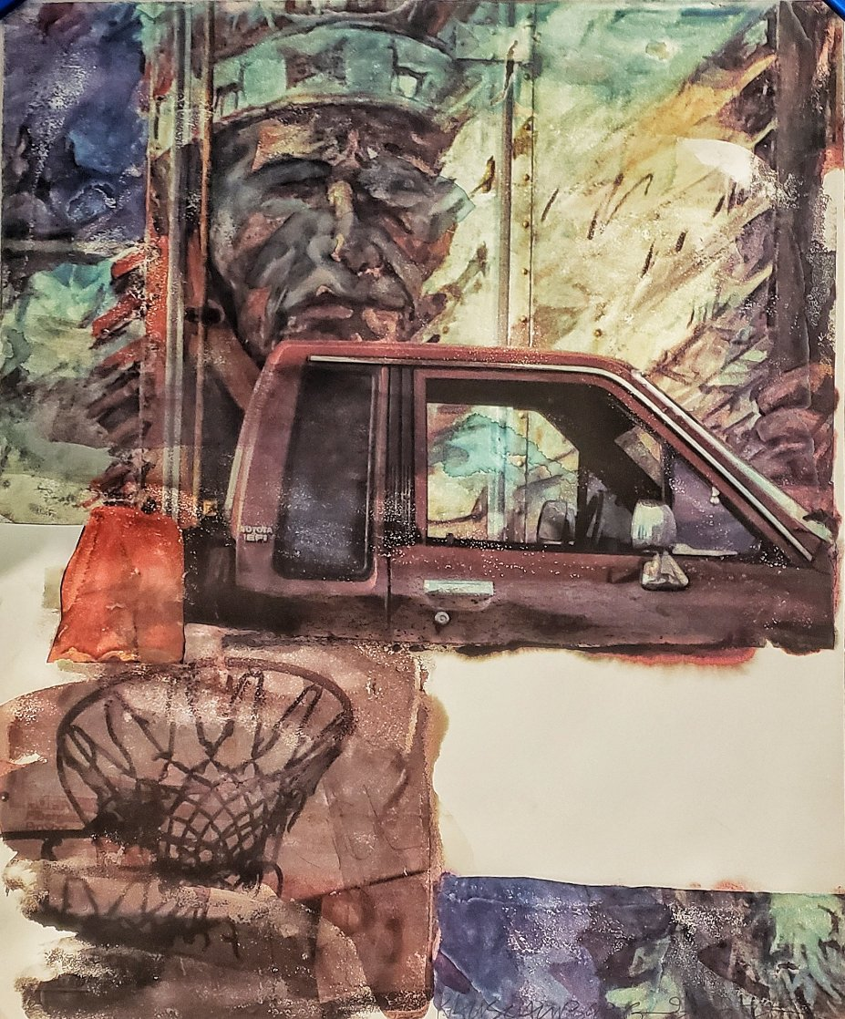 Untitled (American Indian) 2000 Limited Edition Print by Robert Rauschenberg