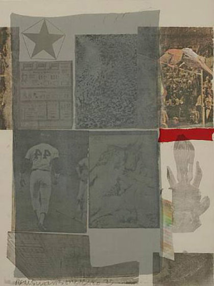Back Out - 1979 Limited Edition Print by Robert Rauschenberg