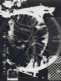 Cliche Verre 1980 Limited Edition Print - Robert Rauschenberg