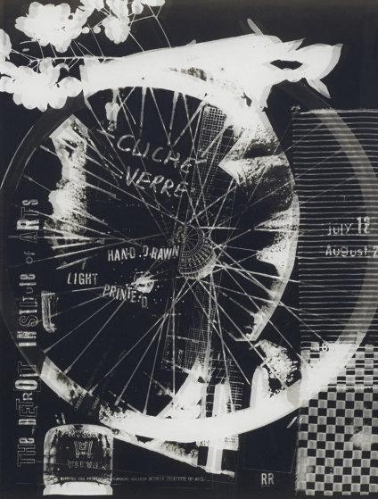 Cliche Verre 1980 by Robert Rauschenberg