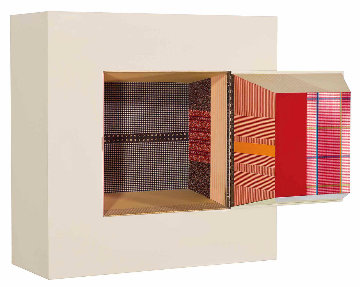 Publicon Station II Wood Sculpture 1978 36x36 Installation - Robert Rauschenberg