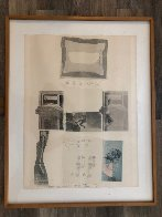 Untitled Collage PP 1979 Limited Edition Print by Robert Rauschenberg - 1