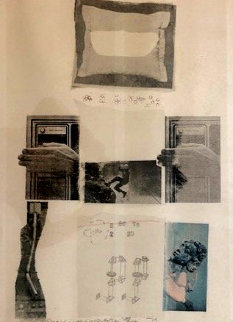 Untitled Collage PP 1979 Limited Edition Print - Robert Rauschenberg
