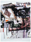 Untitled (Flag) 2000 Limited Edition Print - Robert Rauschenberg