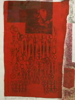 More Distant Visible Part of the Red Sea - 1979 Limited Edition Print by Robert Rauschenberg - 0