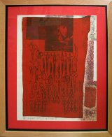 More Distant Visible Part of the Red Sea - 1979 Limited Edition Print by Robert Rauschenberg - 1