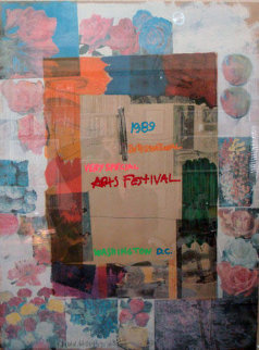Very Special Arts Festival 1989 Limited Edition Print by Robert Rauschenberg
