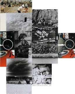Untitled Screenprint 1984 Limited Edition Print - Robert Rauschenberg