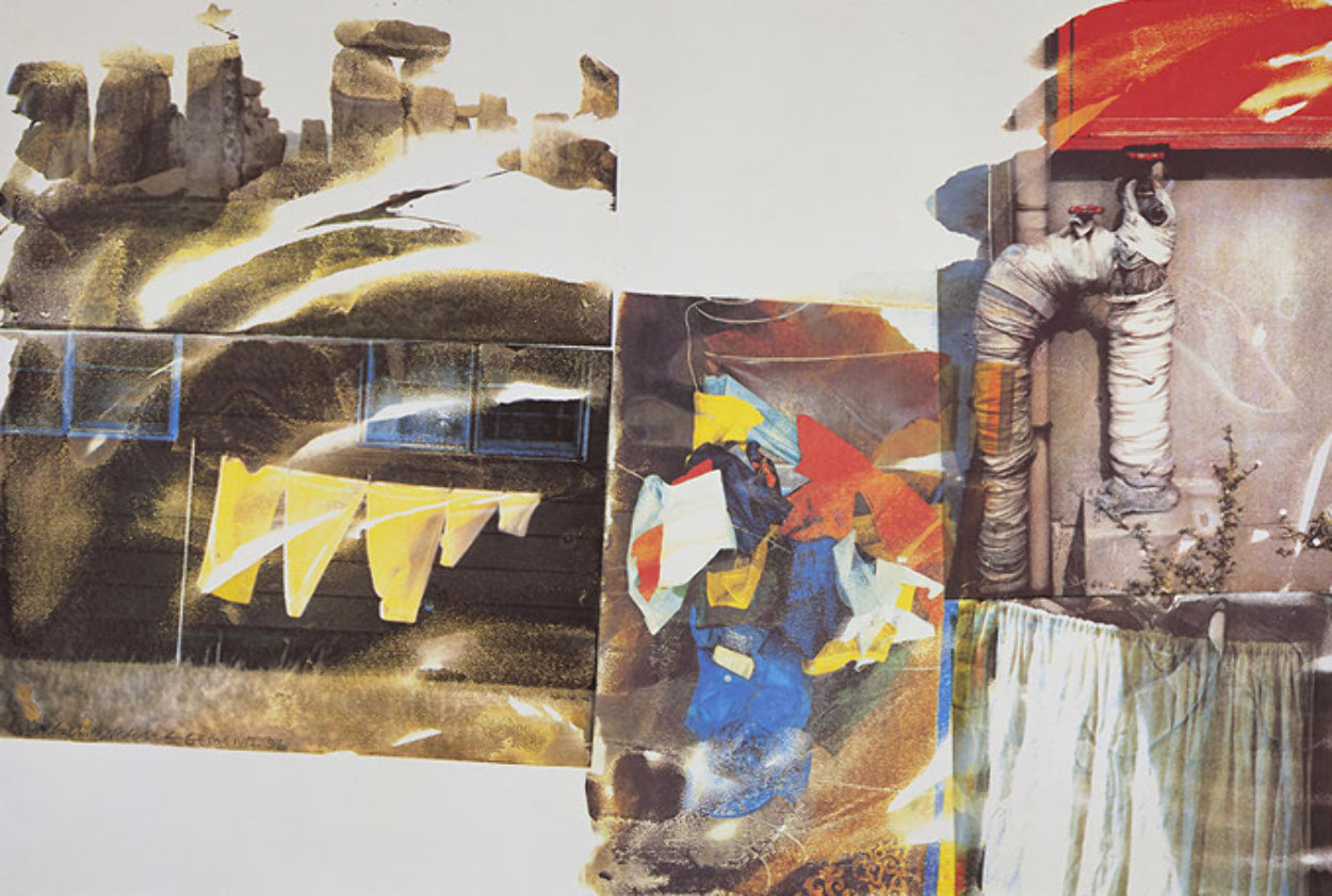 Source (From Speculations) 1996 Limited Edition Print by Robert Rauschenberg