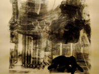 Earth Tie, from Stoned Moon series - 1969 Limited Edition Print by Robert Rauschenberg - 1