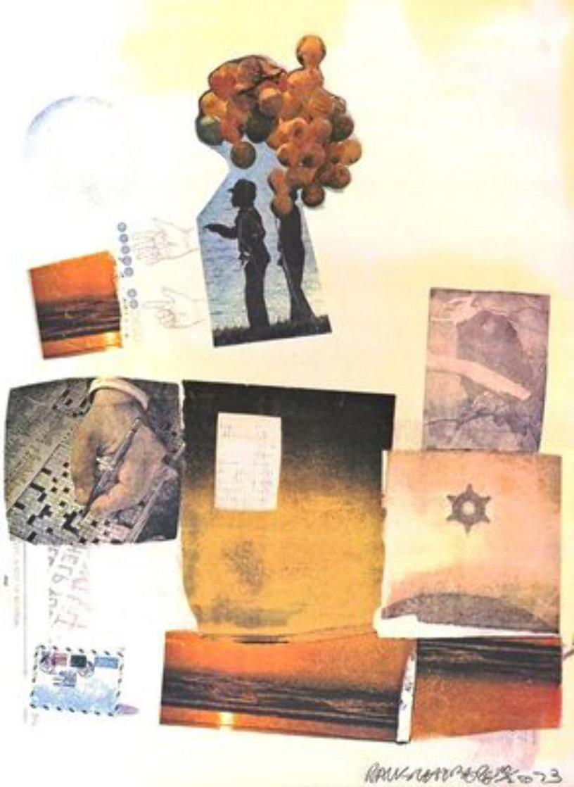 Support -1973 HS Limited Edition Print by Robert Rauschenberg
