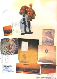 Support -1973 38x30 Limited Edition Print - Robert Rauschenberg