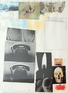 Poster for Peace - 1970 Limited Edition Print by Robert Rauschenberg
