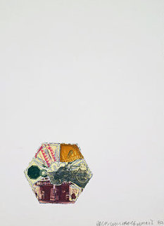 L.A. Flakes - 400' And Falling, And 2003 Limited Edition Print by Robert Rauschenberg
