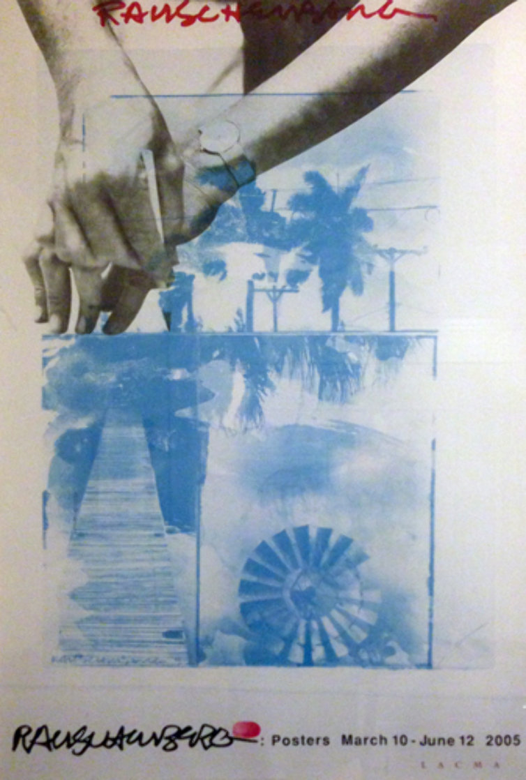 March 10-June 12, 2005 Limited Edition Print by Robert Rauschenberg
