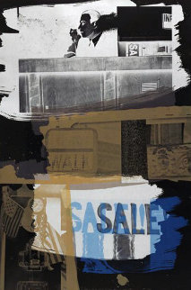 Fence - 1992 Limited Edition Print by Robert Rauschenberg