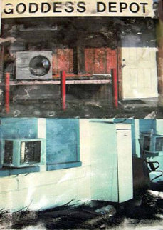 In Transit (Goddess Depot) - 2001 Limited Edition Print by Robert Rauschenberg