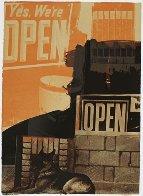 Murmurs - 1992 Limited Edition Print by Robert Rauschenberg - 1