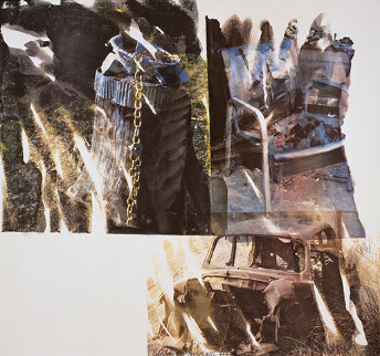 Relic (Speculations) - 1997 Limited Edition Print by Robert Rauschenberg