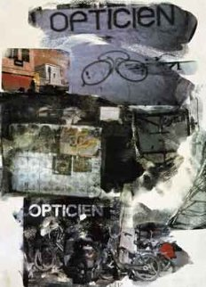 Site - 2000 Limited Edition Print by Robert Rauschenberg