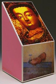 Tibetan Keys (Bevel) Sculpture 1987 Sculpture - Robert Rauschenberg