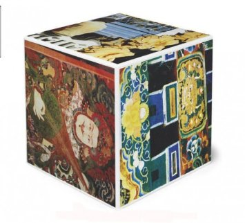 Tibetan Keys (Cube) Sculpture 1986 Sculpture - Robert Rauschenberg