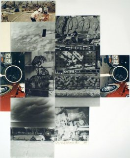 Untitled 1984 Limited Edition Print by Robert Rauschenberg