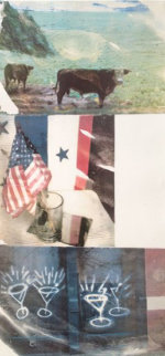 Witness (Speculations) - 1996 69x32 Limited Edition Print by Robert Rauschenberg