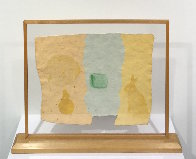 Roan, From Pages And Fuses 1974 Unique 20x25 Limited Edition Print by Robert Rauschenberg - 1