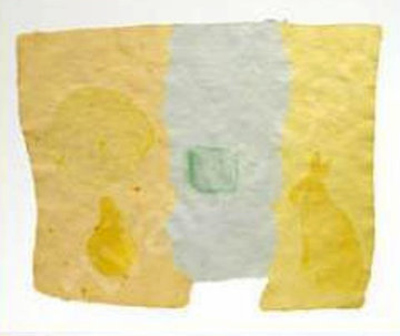 Roan, From Pages And Fuses 1974 Unique 20x25 Limited Edition Print by Robert Rauschenberg