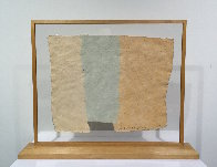 Roan, From Pages And Fuses 1974 Unique 20x25 Limited Edition Print by Robert Rauschenberg - 2