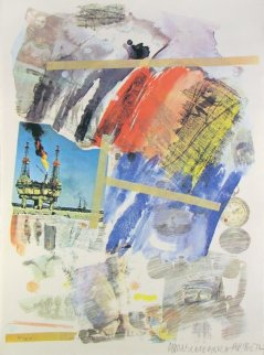 Horchow 1972 Limited Edition Print by Robert Rauschenberg